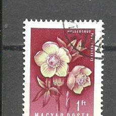 Sellos: HUNGRIA 1958 - YVERT NRO. 1253 - USADO. Lote 295377478
