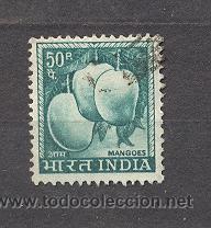 INDIA, MANGOES, USADO (Sellos - Extranjero - Asia - India)