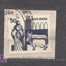 Sellos: INDIA, USADO. Lote 20922335