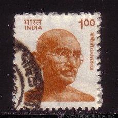 Sellos: INDIA 1085 - AÑO 1991 - MAHATMA GANDHI. Lote 36230945