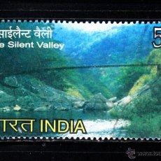 Sellos: INDIA 2197 - AÑO 2009 - PARQUE NACIONAL DEL VALLE DEL SILENCIO. Lote 199257936