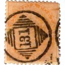 SELLOS INDIA 1856-1864. USADO.