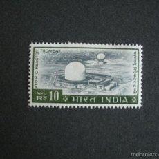 Sellos: INDIA 1965 IVERT 198 * SERIE BÁSICA - REACTOR ATOMICO DE TROMBAY. Lote 57349650