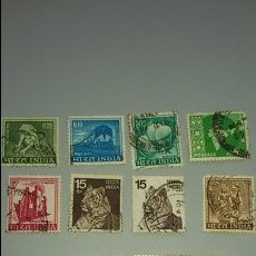 Sellos: LOTE DE SELLOS DE INDIA, AÑOS 70. CIRCULADOS. Lote 62193460