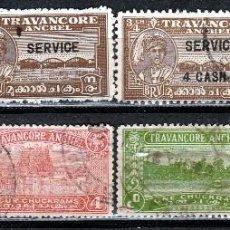 Sellos: TRAVANCORE. INDIA . .*,MH (17-173). Lote 75253331