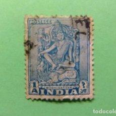 Sellos: INDIA INDE 1951 BODHISATTVA YVERT 34 º FU . Lote 77666469