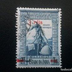 Sellos: INDIA , COLONIA PORTUGAL , YVERT Nº 391 , 1941-45. Lote 86021780