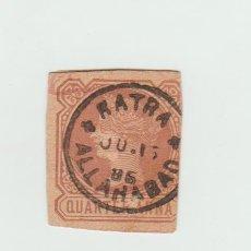 Sellos: SELLO DE LA INDIA COLONIA 1896. Lote 94968359