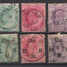 Sellos: INDIA - EDUARDO VII - USADOS. Lote 98951407