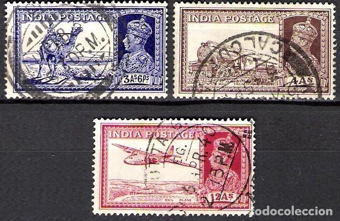 INDIA 1937 - USADO (Sellos - Extranjero - Asia - India)