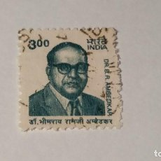 Sellos: SELLO INDIA USADO 2001. DOCTOR B. R. AMBEDKAR. Lote 100371159