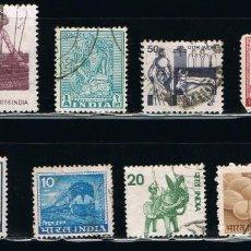 Sellos: INDIA - LOTE DE 10 SELLOS - VARIOS (USADO) LOTE 13. Lote 111506307