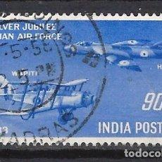 Sellos: INDIA / AVIONES - SELLO USADO. Lote 112727163