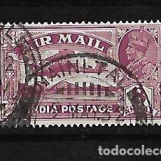 Sellos: INDIA INGLESA IMPERIO 1929 CORREO AEREO JORGE V USADO YVERT A-5 . Lote 118003063