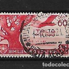 Sellos: ITALIA 1936 BIMILENARIO DEL NACIMIENTO DE HORACIO. Lote 118181095