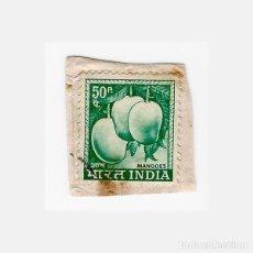 Sellos: SELLO INDIA 50 MANGOES. Lote 136607766