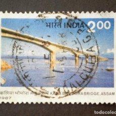 Sellos: 1987 INDIA PUENTE KALIA BHOMOR. Lote 141802882