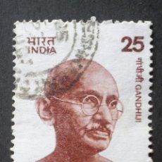 Sellos: 1976 INDIA MAHATMA GANDHI. Lote 141804522