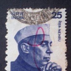 Sellos: 1976 INDIA SRI PANDIT JAWAHARLAL NEHRU. Lote 142182226