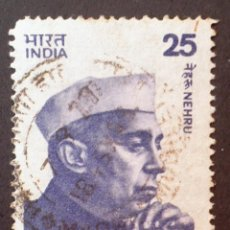 Sellos: 1976 INDIA SRI PANDIT JAWAHARLAL NEHRU. Lote 142361086