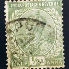 Sellos: INDIA - REY JORGE V - ½ A - 1926. Lote 147668970