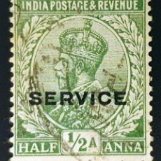 Sellos: INDIA - REY JORGE V - ½ A - 1926. Lote 147668994
