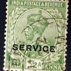Sellos: INDIA - REY JORGE V - ½ A - 1926. Lote 147669006