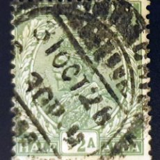 Sellos: INDIA - REY JORGE V - ½ A - 1926. Lote 147669438