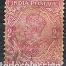 Sellos: INDIA Nº 106, EL REY JIORGE V, USADO (AÑO 1926). Lote 176850080