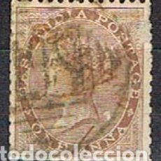 Sellos: INDIA Nº 22, LA REINA VICTORIA, EMPERATRIZ DE LA INDIA, USADO (AÑO 1865). Lote 176850737