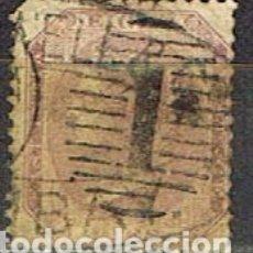 Sellos: INDIA Nº 18, LA REINA VICTORIA, EMPERATRIZ DE LA INDIA, USADO (AÑO 1860). Lote 176850928