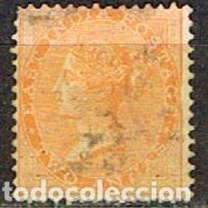 Sellos: INDIA Nº 14, LA REINA VICTORIA, USADO (AÑO 1856). Lote 176851163