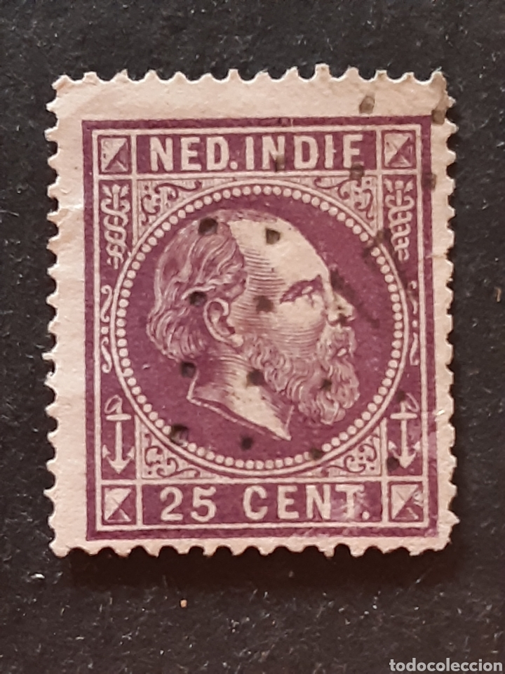 INDIA HOLANDESA, YVERT 12AA (Sellos - Extranjero - Asia - India)