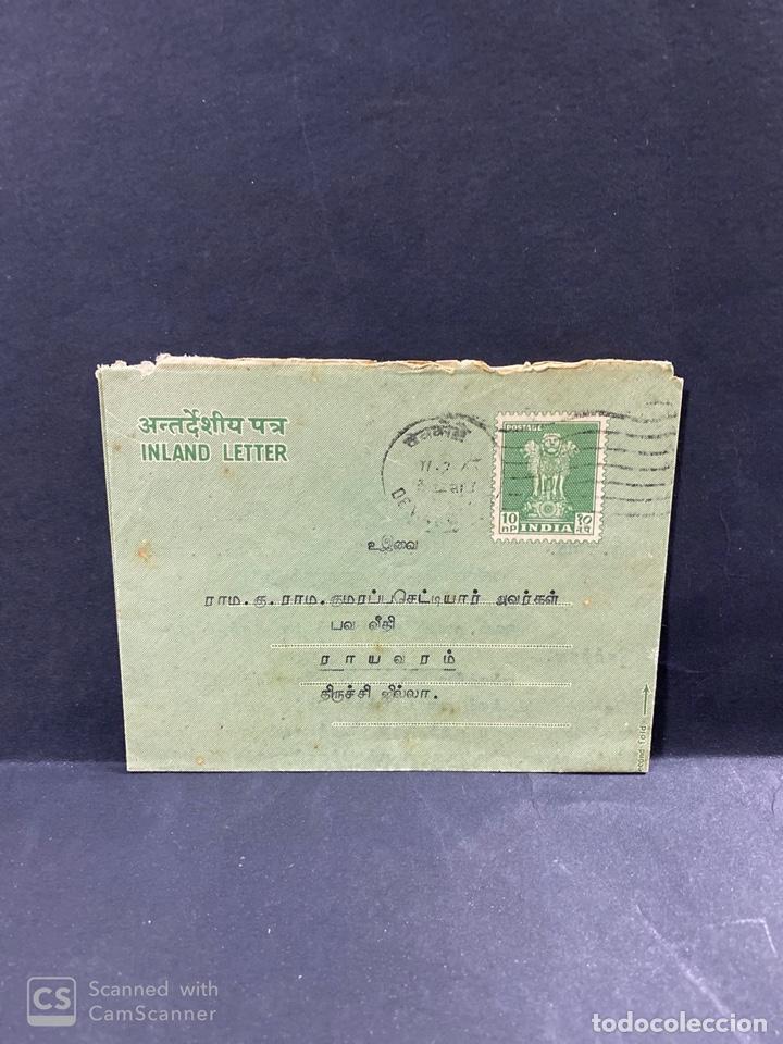 Sellos: LOTE DE 77 SOBRES DE LA INDIA. VER TODAS LAS FOTOS. - Foto 28 - 196964263