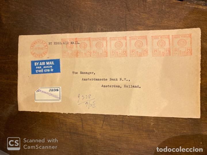 Sellos: LOTE DE 57 SOBRES DE LA INDIA. VER TODAS LAS FOTOS. - Foto 18 - 197279698