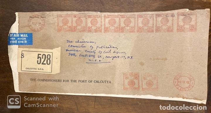 Sellos: LOTE DE 57 SOBRES DE LA INDIA. VER TODAS LAS FOTOS. - Foto 19 - 197279698