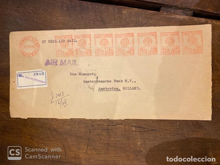 Sellos: LOTE DE 57 SOBRES DE LA INDIA. VER TODAS LAS FOTOS. - Foto 34 - 197279698