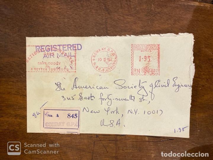 Sellos: LOTE DE 57 SOBRES DE LA INDIA. VER TODAS LAS FOTOS. - Foto 38 - 197279698