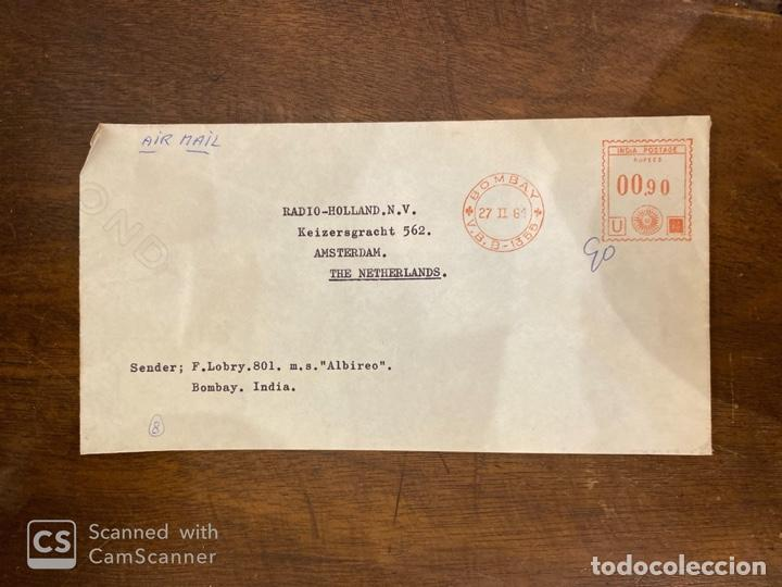 Sellos: LOTE DE 57 SOBRES DE LA INDIA. VER TODAS LAS FOTOS. - Foto 50 - 197279698