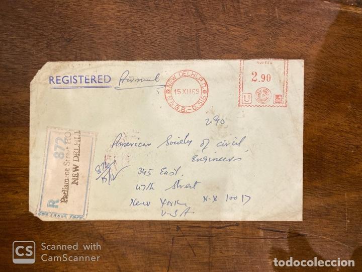 Sellos: LOTE DE 57 SOBRES DE LA INDIA. VER TODAS LAS FOTOS. - Foto 56 - 197279698