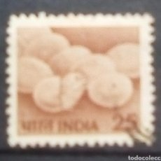 Sellos: INDIA POLLUELOS SELLO USADO. Lote 198101503