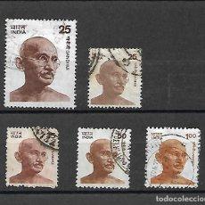 Sellos: GANDHI. INDIA. . Lote 198770772