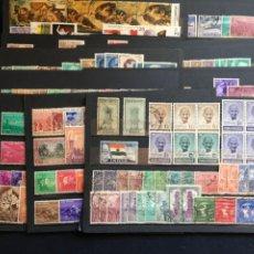 Sellos: INDIA, LOTE DE SELLOS NUEVOS Y USADOS,. Lote 203424626