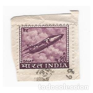 SELLO INDIA GNAT 20 P (Sellos - Extranjero - Asia - India)