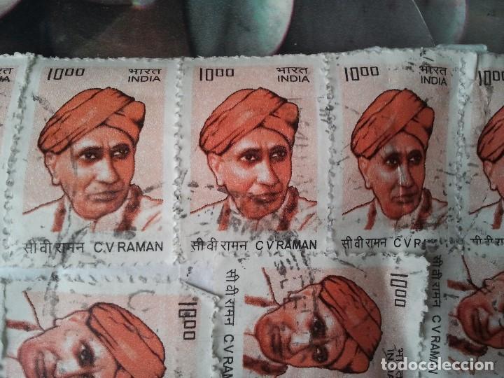 Sellos: Raro lote de 11 sellos de la India. Usados y matasellados. - Foto 3 - 205727946