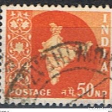 Sellos: INDIA // YVERT 103 // 1958-63 ... USADO. Lote 205733071