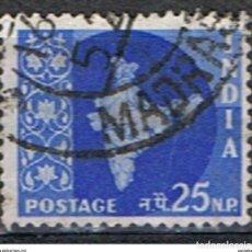 Sellos: INDIA // YVERT 102 // 1958-63 ... USADO. Lote 205733151