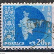 Sellos: INDIA // YVERT 101 // 1958-63 ... USADO. Lote 205733257