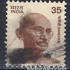 Timbres: INDIA 1980-82 - MAHATMA GANDHI - SELLO USADO. Lote 207414531
