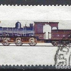 Sellos: INDIA 1976 - LOCOMOTORAS, 1 F/1. 1895 - SELLO USADO. Lote 207418492